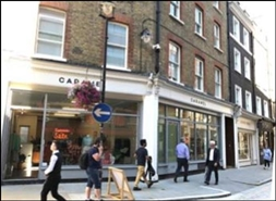 871 SF High Street Shop for Rent  |  70 - 72 Marylebone Lane, London, W1U 2PH