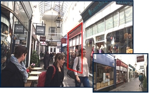200 SF Shopping Centre Unit for Rent | 7 Royal Arcade, Cardiff, CF10 1AE
