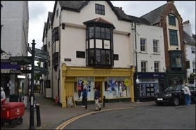 820 SF High Street Shop for Rent  |  Agincourt House, Monmouth, NP25 3BT