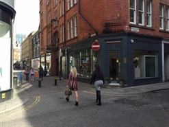 527 SF High Street Shop for Rent | 9 South King Street, Manchester, M2 6DG