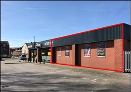 1,303 SF Out of Town Shop for Rent | Retail Showroom, Manchester, M18 8HE