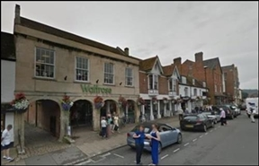 2,124 SF High Street Shop for Rent  |  1-2 Hillliers Yard, Marlborough, SN8 1BE