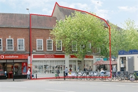 2,199 SF High Street Shop for Rent  |  5 & 6 Royal George Buildings, Rugby, CV21 3EA
