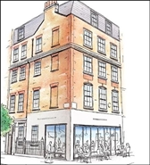 1,411 SF High Street Shop for Rent  |  Development, London, W1W 7NU