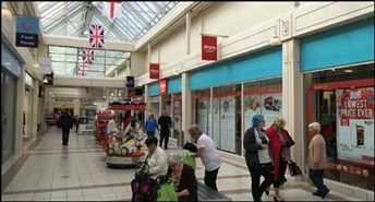 5,743 SF Shopping Centre Unit for Rent  |  Unit 17-19, Spinning Gate Shopping Centre, Leigh, WN7 4PG