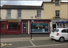 478 SF High Street Shop for Rent  |  12 Market Place, Swaffham, PE37 7AB