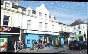 2,422 SF High Street Shop for Rent  |  48 Mutleyplain, Plymouth, PL4 6LP