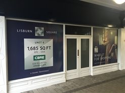 1,670 SF Shopping Centre Unit for Rent  |  6 Lisburn Square, Lisburn, BT28 1TS