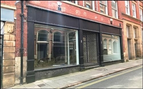 344 SF High Street Shop for Rent  |  15 Hounds Gate, Nottingham, NG1 7AA
