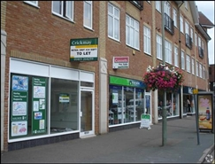 434 SF High Street Shop for Rent  |  25 High Street, Horley, RH6 7BH
