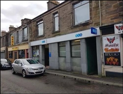 952 SF High Street Shop for Sale  |  142 Main Street, Lochgelly, KY5 9JR