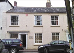 1,257 SF High Street Shop for Sale  |  Old Bank House, Chulmleigh, EX18 7BR