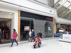 1,270 SF Shopping Centre Unit for Rent  |  Unit 17, Kingsgate Shopping Centre, Huddersfield, HD1 2QB