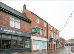 1,392 SF High Street Shop for Rent  |  14 Upper Brook Street, Rugeley, WS15 2DW