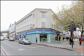 1,068 SF High Street Shop for Rent  |  417 Brixton Road, London, SW9 8HE