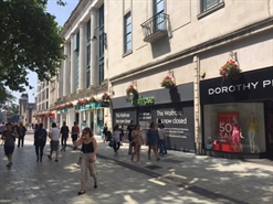 3,773 SF High Street Shop for Rent  |  15 Queen Street, Cardiff, CF10 2AQ