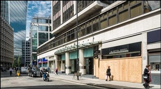 2,200 SF High Street Shop for Rent  |  Fountain House, London, EC3M 5DJ