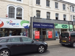 1,214 SF High Street Shop for Rent  |  Unit 3 The Parade, Minehead, TA24 5UF