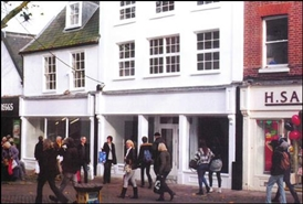 1,900 SF High Street Shop for Rent  |  30 - 31 Cornhill, Bury St Edmunds, IP33 1DY