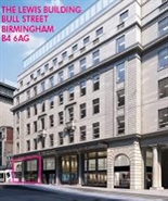 High Street Shop for Rent  |  The Lewis Building, Bull Street, Birmingham, B4 6AG