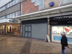 353 SF Shopping Centre Unit for Rent  |  16 Merseyway, Merseyway Shopping Centre, Stockport, SK1 1RW