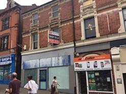1,400 SF High Street Shop for Rent  |  49 Bath Street, Ilkeston, DE7 8AH