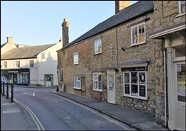 758 SF High Street Shop for Rent  |  168 Trendle Street, Sherborne, DT9 3NT