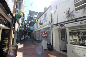 1,427 SF High Street Shop for Rent  |  7 - 8 Meeting House Lane, Brighton, BN1 1HB