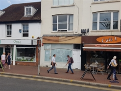 1,047 SF High Street Shop for Rent  |  122A High Street, Epsom, KT19 8BJ