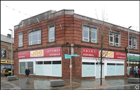 2,090 SF High Street Shop for Rent  |  Unit 5, Lunesdale House, Morecambe, LA4 5LD