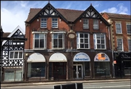 1,413 SF High Street Shop for Rent  |  5 High Street, Bromsgrove, B61 8AJ