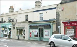 340 SF High Street Shop for Sale  |  1 Claremont Terrace, Bath, BA1 6EH