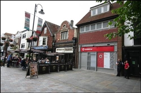 683 SF High Street Shop for Rent  |  13 Market Place, Salisbury, SP1 1EP