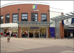 806 SF Shopping Centre Unit for Rent  |  The Square Shopping Centre, Sale, M33 7WZ