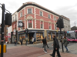 1,958 SF High Street Shop for Rent  |  24 Corn Market, Derby, DE1 2DP