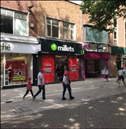 1,598 SF High Street Shop for Rent  |  50 Bridge Street, Peterborough, PE1 1DT