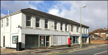 898 SF Out of Town Shop for Rent  |  248 - 250 White Hart Lane, Fareham, PO16 9AR