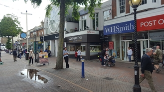 1,167 SF High Street Shop for Rent  |  114 Terminus Road, Eastbourne, BN21 3AJ