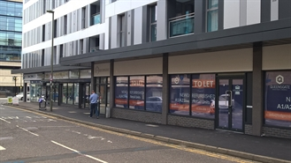 860 SF High Street Shop for Rent  |  2-8 Cromwell Road, Redhill, RH1 1RT