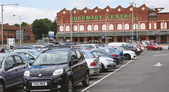 12,630 SF Shopping Centre Unit for Rent  |  Rosemary Centre, Mansfield, NG18 1QN