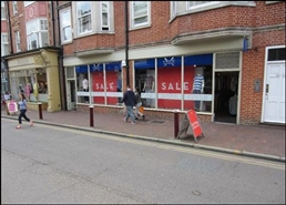 793 SF High Street Shop for Rent  |  32 - 34 High Street, Tunbridge Wells, TN1 1XF