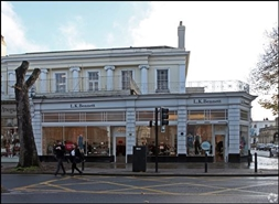 1,489 SF High Street Shop for Rent  |  118 - 120 Promenade, Cheltenham, GL50 1NL