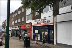 975 SF High Street Shop for Rent  |  611 Mansfield Road, Nottingham, NG5 2FW
