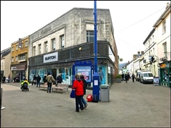 2,400 SF High Street Shop for Rent  |  16 - 18 High Street, Abergavenny, NP7 5RY