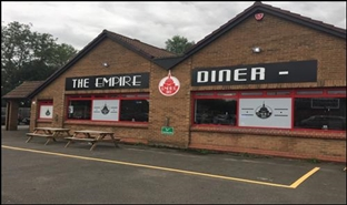 1,415 SF Out of Town Shop for Rent  |  The Empire Diner, Witham, CM8 3HB