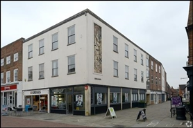 419 SF High Street Shop for Rent  |  Sussex House, Chichester, PO19 1LJ