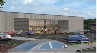1,800 SF Out of Town Shop for Rent  |  Unit A Leeming Lane South, Mansfield, NG19 9AQ