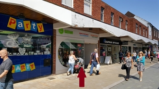 790 SF High Street Shop for Sale  |  101 High Street, Bromsgrove, B61 8AE