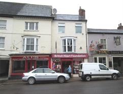 900 SF High Street Shop for Rent  |  135 High Street, Honiton, EX14 1HR