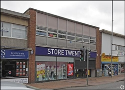 3,786 SF High Street Shop for Rent  |  Brownhills, Walsall, WS8 6HH